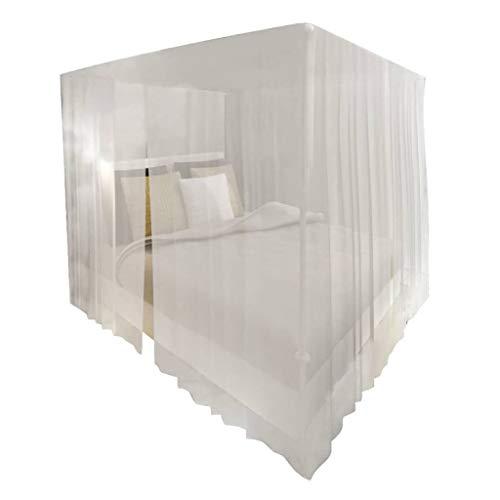 VidaXL 2 x muggennet bedhemel muggennet insectennet vliegennet bed net