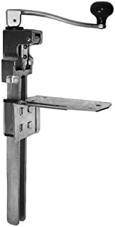 ChefLand Cast Iron Heavy Duty No.1 Commercial Can Opener Table Mount, Silver