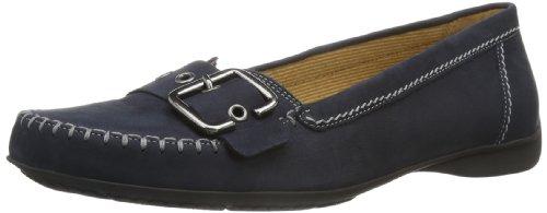 Gabor Shoes Damen Comfort Mokassin, Blau (Nightblue), 40.5 EU
