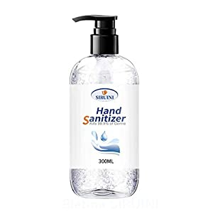 75% Alcohol Disposable Hand Sanitizer Gel, Kills 99.99% Germs, Long-Lasting Antibacterial Quick Drying Liquid Hand Soap, Disinfecting Cleaner?No Water Required ?Net Content 300 ml?