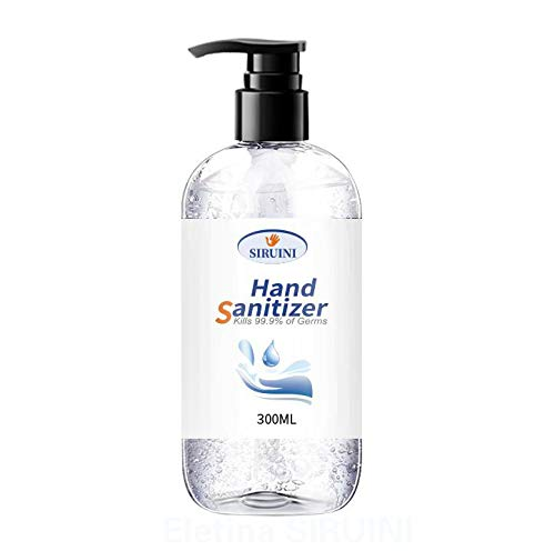 75% Alcohol Disposable Hand Sanitizer Gel, Kills 99.99% Germs, Long-Lasting...