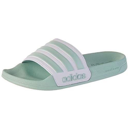 adidas Adilette Shower, Ciabatte Donna, Turchese (Green Tint/Ftwr White/Green Tint), 38 EU