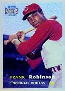 2001 Topps Archives Reserve Baseball Card #94 Frank Robinson