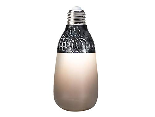 Halloween LED Classic White Short Circuit Frosted Beige Light Bulb