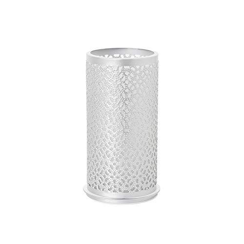 Duni Kerzenhalter aus Metall - Bliss Silber - 140x75 mm - 1 Stück