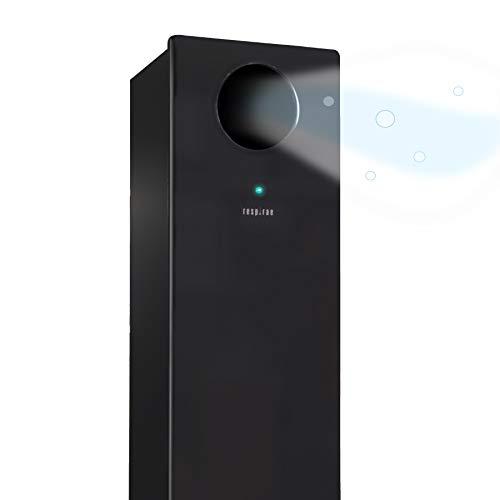 Respirae RES1004 Purificador de Aire con Luz Ultravioleta UV-C, germicida, desinfección de patógenos del aire, efectividad del 99,9%, sin filtros ni ozono (negro)