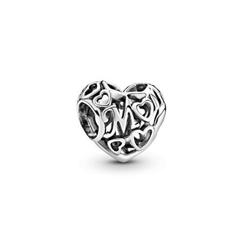 Pandora 791519 - Charm da donna Loving Mom, aperto in argento 925