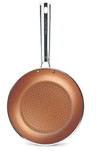 Pensofal PEN 6703 Cuprum koekenpan 24 cm roestvrij stalen handvat, 1,5 liter, aluminium