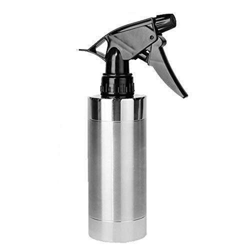 Hinzonek Botella de Spray de Acero Inoxidable de 280 Ml Plantas de Baño de Cocina Pulverizador de Agua Contenedor Recargable Vacío