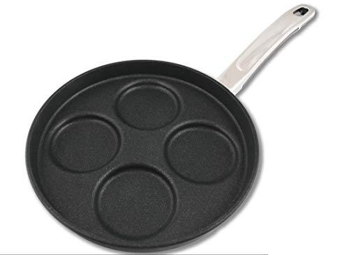 BAF Pancake-Pfanne, induktionsgeeignet, backofenfest bis 260°C, Aluguss-Pfanne Gigant Newline, Made in Germany