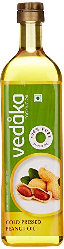 Vedaka Cold Pressed Peanut (Groundnut) Oil 1l