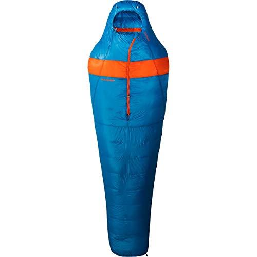 Mammut Sac de Couchage Sphere Nordwand Cyan-Orange – Sac de Couchage, Unisexe, Bleu – (Cyan-Orange)