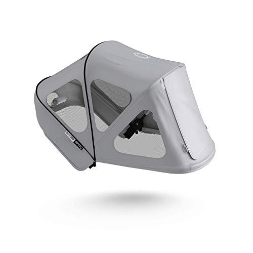 Capota ventilada Bugaboo Donkey - Capota extensible con protección solar UPF y paneles de malla ventilados - gris niebla