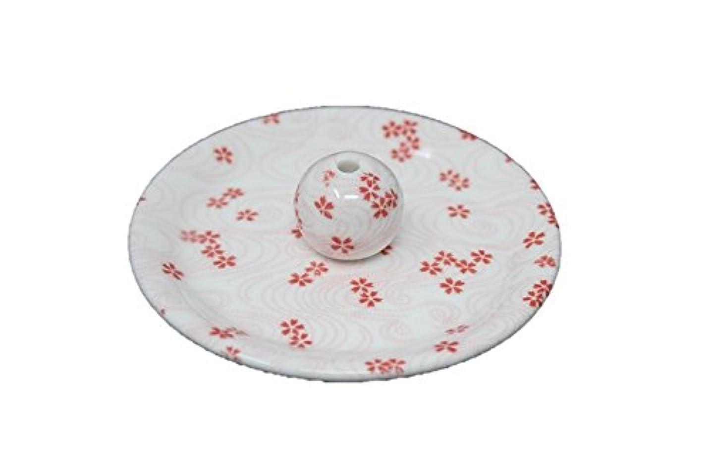 滅びる種類納屋9-34 桜渦 9cm香皿 お香立て お香たて 陶器 日本製 製造?直売品