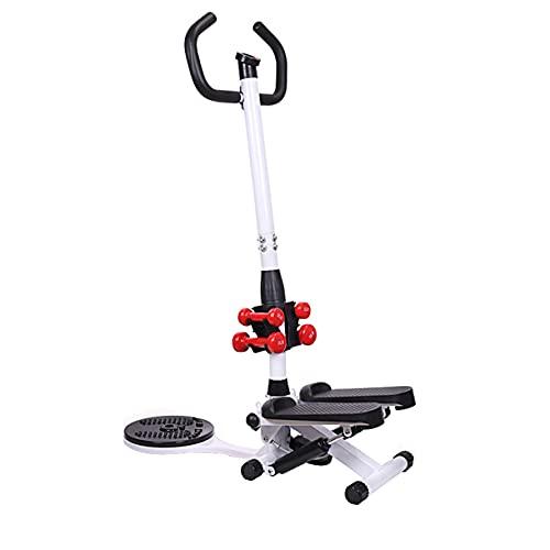 TATANE Zuhause Elliptisch Crosstrainer, Schwingen Oben unten Stepper Zuhause Exerciser Arm Leg Cycle Gym Fitness Flexibilität verbessern & Förderung der Durchblutung mit Armlehnen Mini