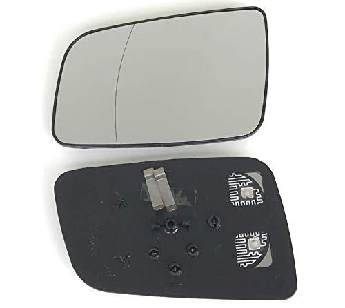 Pro!Carpentis Spiegel Spiegelglas Links kompatibel mit Astra G Baujahr 02/1998-01/2005 beheizbar Außenspiegel elektrisch und manuell geeignet