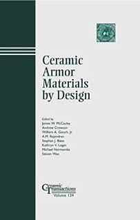 Ceramic Armor Materials by Design (Ceramic Transactions, Vol. 134)