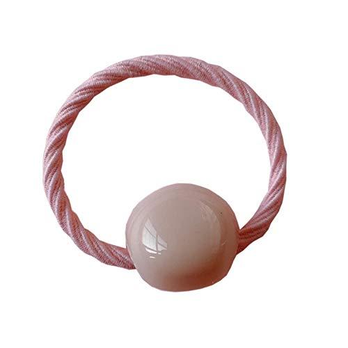 Empty 1Set 7Pcs kinder haarband hoofd touw stropdas haar cartoon hoofdtooi meisje elastiek schattig en schattig haarband roze