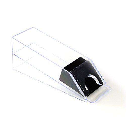 Nexos Profi kortspelare kortbyxor återförsäljare sko 1–6 däck transparent plast casino pokertillbehör för poker eller Black Jack