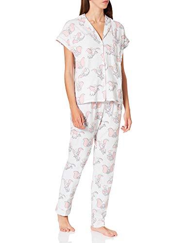 Women' Secret Short Sleeves Masculine Pyjama Pijama, Marengo, S para Mujer