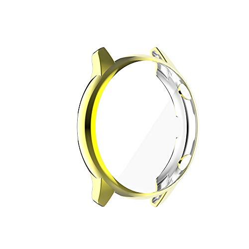 G-RF Funda con Pantalla táctil para Huami Amazfit GTR 2 / GTR 2e galvanizada de TPU Todo Incluido Cubierta (Oro)