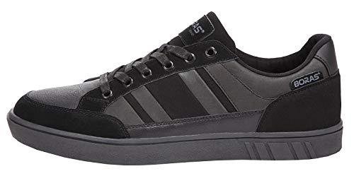 Boras Sneaker in Übergrößen Schwarz 4900-0041 große Herrenschuhe, Größe:50