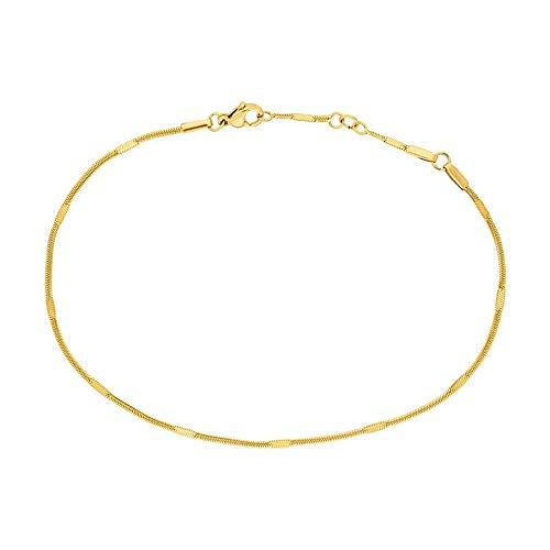 PURELEI® Kanani Fußkettchen (Gold, Vergoldet)