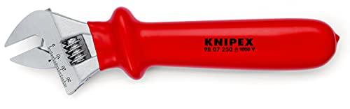 KNIPEX Rollgabelschlüssel 1000V-isoliert (260 mm) 98 07 250