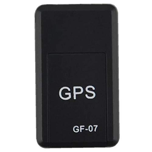 fedsjuihyg Localizador GPS Mini Antirrobo Localizador GPS Seguimiento En Tiempo Real del Dispositivo De Posicionamiento De Dispositivos para Niños De Personas Mascotas Accesorios Eficaz