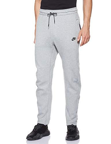 NIKE Sportswear Tech Fleece Pants Men Pantalones de Deporte, Hombre, Gris (Dark Grey Heather/Dark Grey/White), 2XL