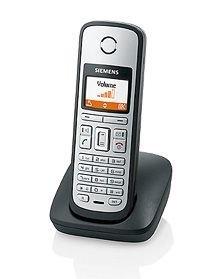 Siemens Gigaset C38 H - Teléfono inalámbrico con base de carga, color titanio [Importado de Alemania]: Amazon.es: Electrónica