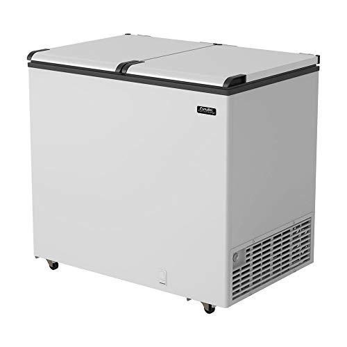 Freezer/Conservador Horizontal Esmaltec ECH350 Branco 325L Tripla Ação -22ºC a 3,5ºC 220V 220V