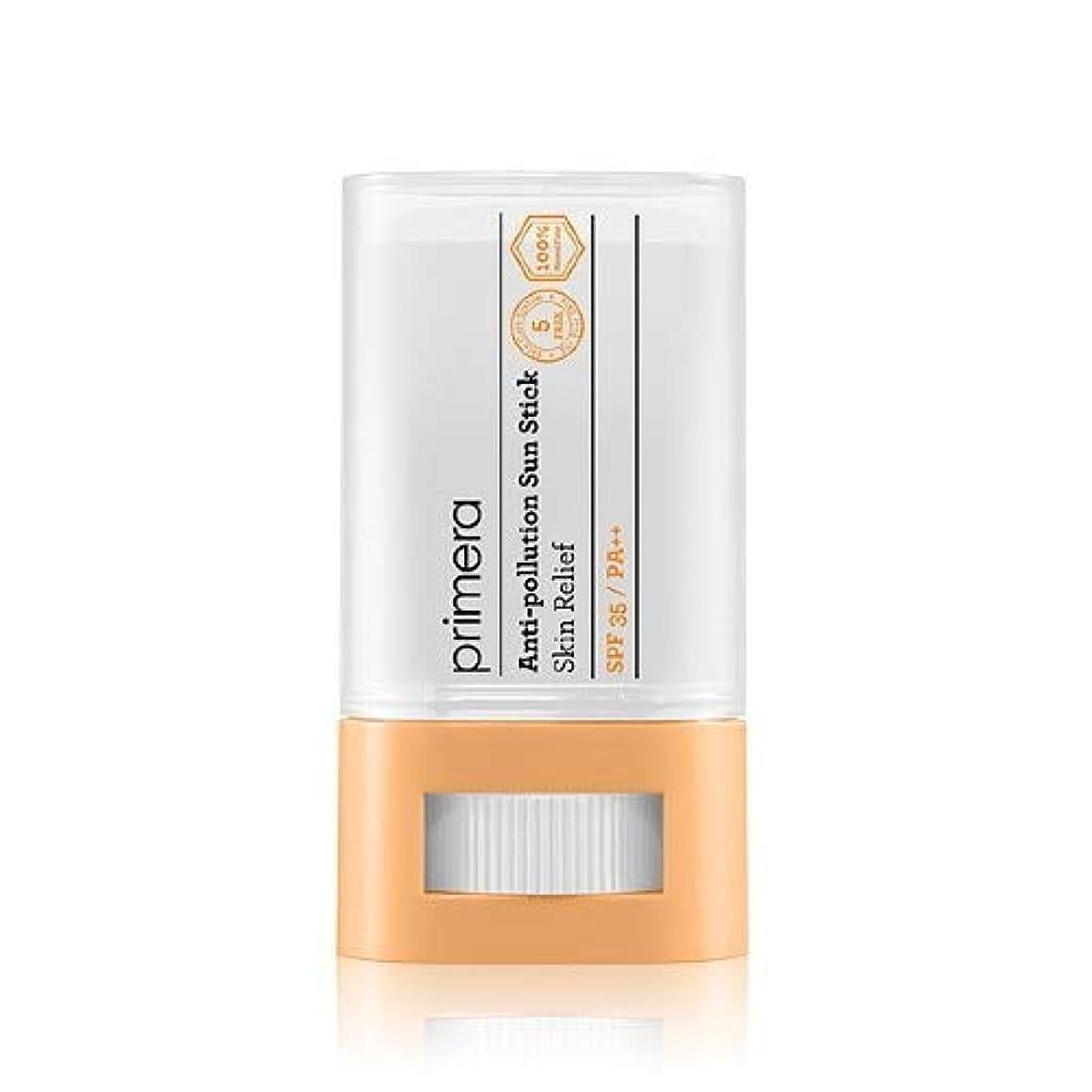 に応じて牛オプションPRIMERA プリメラ Skin Relief Anti-pollution Sun Stick サンスティック 16g, SPF35 PA++ 韓国日焼け止め