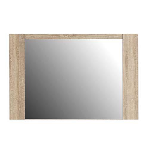 99.3 x 1.8 x 66 cm NEWFACE Calpe Specchio Rovere Sonoma
