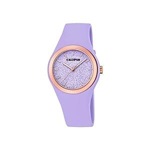 Calypso Watches Reloj Analógico para Mujer de Cuarzo con Correa en Plástico