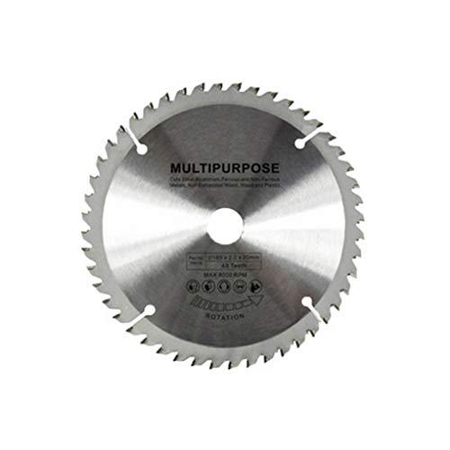 Mingtongli 48T sólido de sierra de metal circular cuchilla redonda universal multifuncional de la hoja TCT Multifuncional Máquina Cuchilla