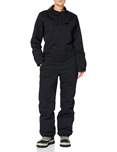 L1 HELLDIVER ´20 Damen, Snowboard- Jumpsuit, Snowboardanzug, Einteiler, Overall, 2 Lagig mit Belüftungsschlitzen, Regular Fit, workerstyle, M, BLACK