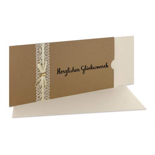 Glückwunschkarte Hochzeit/Geburtstag Glücksschwein