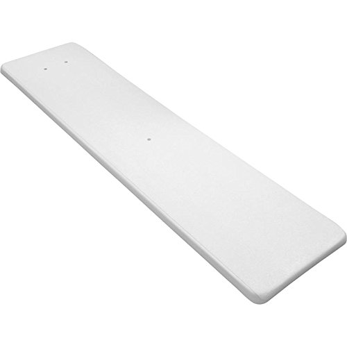 Inter-Fab DS6WW Diving Board Replacement for In-Ground Pools, Duro-Spring, White