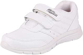 BATA Unisex Velcro Black School Shoes