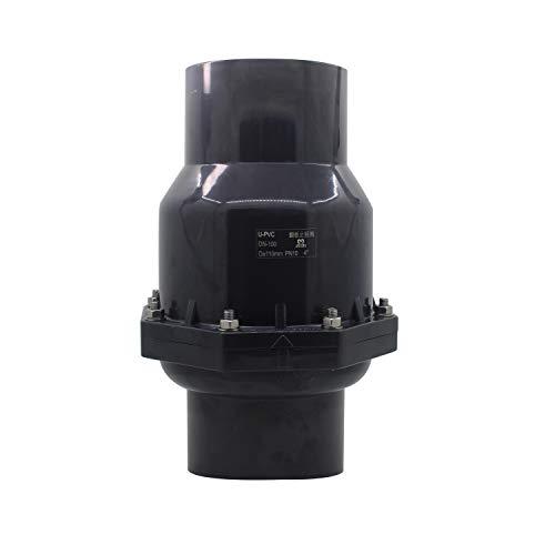 Rückschlagventil abfluss rückstauklappe abwasser rückstauverschluss vertikal PVC innendurchmesser 20 25 32 40 50 63 75 90 110 125 160 200mm (Innendurchmesser 40mm)