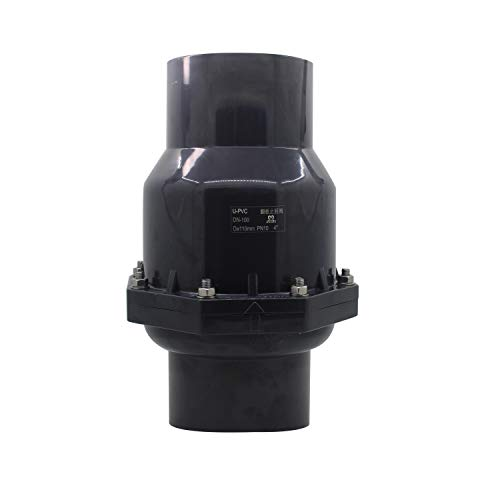 Valvula antiretorno agua pvc drenaje para desagüe cocina válvula antiolor diámetro interno 20 25 32 40 50 63 75 90 110 125 160 200mm (Diámetro Interno 40mm)