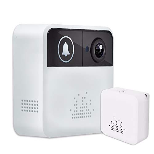 HSTD Video Doorbell, Smart Wireless WiFi Security Door Bell, 2-Way...