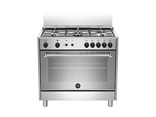 Bertazzoni La Germania Americana AMN965GXV cucina Piano cottura Acciaio inossidabile Gas A+