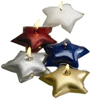 Biedermann & Sons 12 Silver Glitter Floating Candles