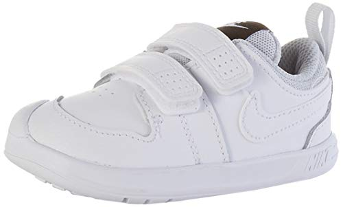 Nike Pico 5 (TDV), Zapatillas para Bebés, White White Pure Platinum, 21...