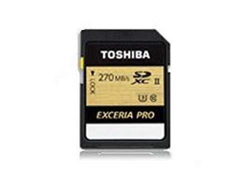 Toshiba EXCERIA PRO - N501 32GB SDXC Class 3 UHS-II 32GB SDHC Class 3 UHS-II 270MB/s schwarz
