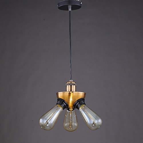 L.J.JZDY Araña Lámpara Colgante for Las Luces del gabinete de Cocina Salón Comedor Salón Bar Breve luz Pendiente artefacto de iluminación Colgante Ligera