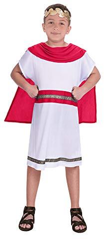 amscan 9906400 - Disfraz infantil de caballero medieval (8 a 10 años), color rojo