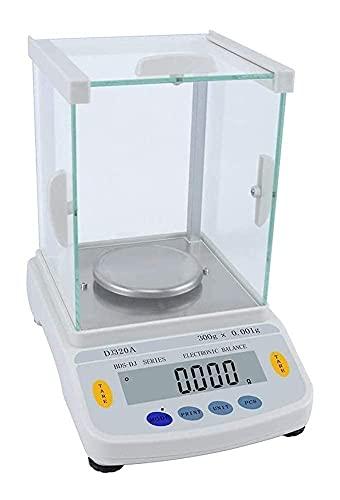 Balanza Analítica De Laboratorio De Alta Precisión 0.001G Balanza Industrial Electrónica Digital Balanza De Precisión Electrónica Portátil Pequeña Con Función De Conteo Lcd 918 (Tamaño: 320G /